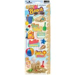Paper House Productions - Fun Beach Collection - Cardstock Stickers - Fun Beach 2
