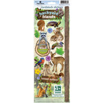 Paper House Productions - Nature Collection - Cardstock Stickers - Backyard Friends
