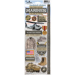 Paper House Productions - Cardstock Stickers - United States Marines