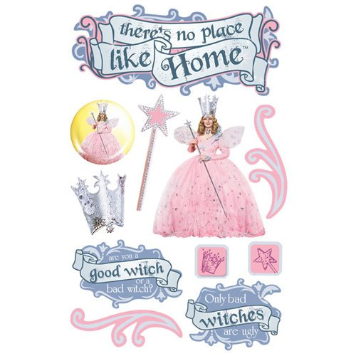 Paper House Productions - Wizard of Oz Collection - 3 Dimensional Cardstock Stickers - Glinda