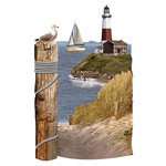 Paper House Productions - 3 Dimensional Cardstock Stickers - Lighthouse