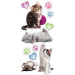 Paper House Productions - Puffy Stickers - Kittens