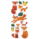 Paper House Productions - Puffy Stickers - Foxes