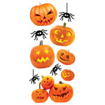 Paper House Productions - Halloween -Puffy Stickers - Jack O'Lanterns