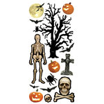 Paper House Productions - Puffy Stickers - Spooky Halloween