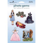Paper House Productions - Wizard of Oz Collection - Epoxy Stickers - Wizard of Oz, BRAND NEW