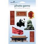 Paper House Productions - China Collection - Epoxy Stickers - China
