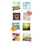 Paper House Productions - Snap Shots - Cardstock Stickers - Nature