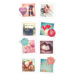 Paper House Productions - Snap Shots - Cardstock Stickers - Vintage Romance