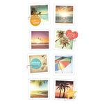 Paper House Productions - Snap Shots - Cardstock Stickers - Endless Summer