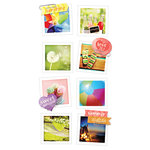 Paper House Productions - Snap Shots - Cardstock Stickers - Summer Fun