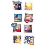 Paper House Productions - Snap Shots - Cardstock Stickers - Urban