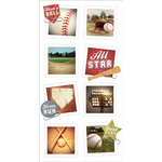 Paper House Productions - Snap Shots - Cardstock Stickers - Baseball
