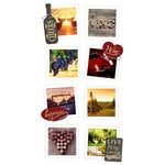 Paper House Productions - Snap Shots - Cardstock Stickers - Wine