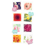 Paper House Productions - Snap Shots - Cardstock Stickers - Floral
