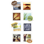 Paper House Productions - Snap Shots - Cardstock Stickers - Lakeshore