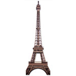 Paper House Productions - Paris Collection - 3 Dimensional Cardstock Stickers - Eiffel Tower