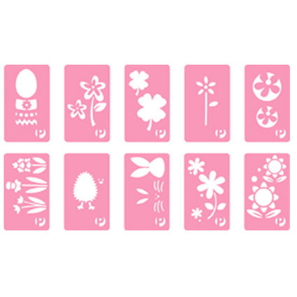 Pebbles Inc. - Chalk Stencils - Spring