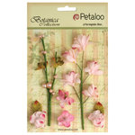 Petaloo - Botanica Collection - Floral Embellishments - Ephemera - Soft Pink