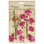 Petaloo - Botanica Collection - Floral Embellishments - Ephemera - Fuchsia