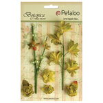 Petaloo - Botanica Collection - Floral Embellishments - Ephemera - Pistachio