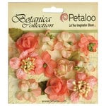 Petaloo - Botanica Collection - Floral Embellishments - Minis - Coral