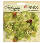 Petaloo - Botanica Collection - Floral Embellishments - Minis - Pistachio