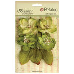 Petaloo - Botanica Collection - Floral Embellishments - Blooms - Pistachio