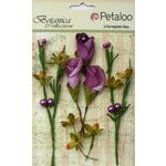 Petaloo - Botanica Collection - Floral Embellishments - Calla Lilies and Berries - Lavender and Purple
