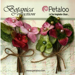 Petaloo - Botanica Collection - Floral Embellishments - Velvet Hydrangea - Rose