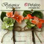 Petaloo - Botanica Collection - Floral Embellishments - Velvet Hydrangea - Apricot