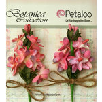 Petaloo - Botanica Collection - Floral Embellishments - Velvet Lilacs - Mauve