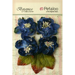 Petaloo - Botanica Collection - Floral Embellishments - Sugared Blooms - Royal Blue