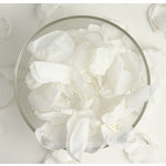 Petaloo - Botanica Collection - Floral Embellishments - Rose Petals - White