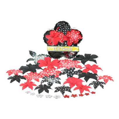 Petaloo - It's Magic Mickey Disney Collection - Flowers - Dahlia Box Blend - Small - Red and Black, CLEARANCE