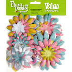 Petaloo - Flora Doodles Collection - Layering Fabric and Glitter Flowers - Baby's Coming
