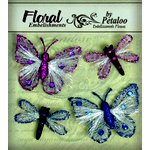 Petaloo - Devon Collection - Glitter Critters - Purple and Blue