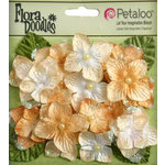 Petaloo - Flora Doodles Collection - Velvet Hydrangeas - Butterscotch