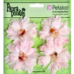 Petaloo - Flora Doodles Collection - Beaded Peonies - Small - Soft Pink