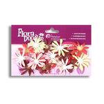 Petaloo - Flora Doodles - Firecracker Daisies - Handmade Cotton Flowers - Yummy Cupcake, CLEARANCE