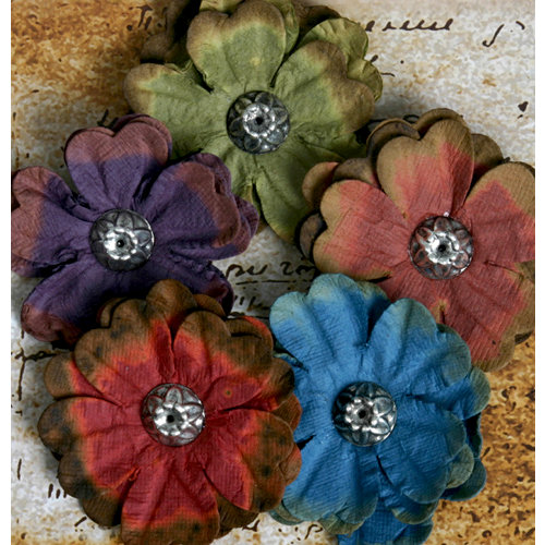 Petaloo - Darjeeling Collection - Floral Embellishments - Anemone