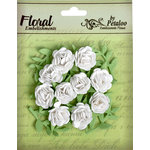 Petaloo - Devon Collection - Petites Mini Rose - White
