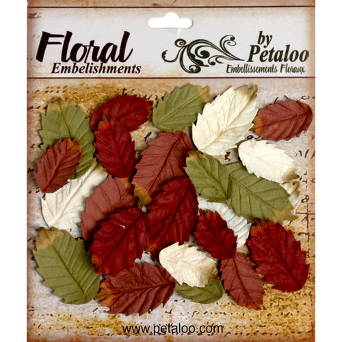 Petaloo - Darjeeling Collection - Floral Embellishments - Leaves Medium