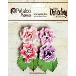 Petaloo - Darjeeling Collection - Floral Embellishments - Frosted Roses - Hyacinth