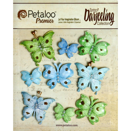 Petaloo - Darjeeling Collection - Butterflies - Cottage Blue