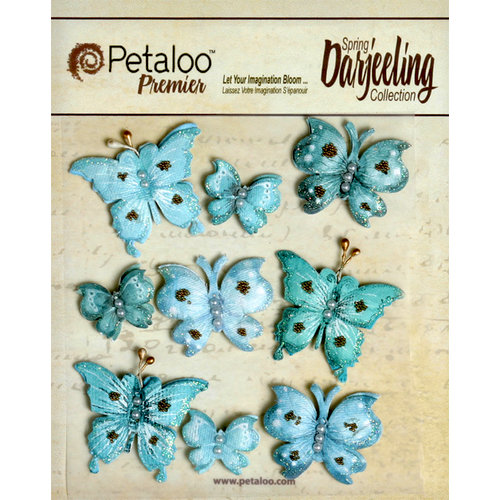 Petaloo - Darjeeling Collection - Butterflies - Seaside