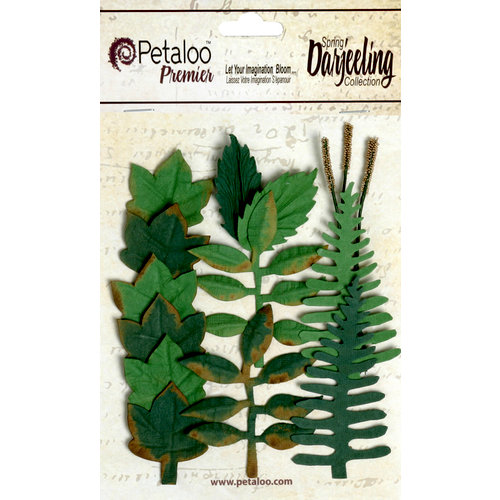 Petaloo - Darjeeling Collection - Foliage - Greens