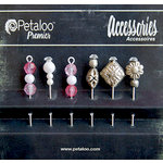 Petaloo - Darjeeling Collection - Beaded Hat Pins - Fuschia