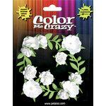Petaloo - Color Me Crazy Collection - Petite Mini Rose Clusters