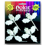 Petaloo - Color Me Crazy Collection - Velvet Berry Picks - Whites